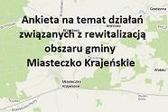 Link do ankiety dot. Rewitalizacji obszaru Gminy Miasteczko Krajeńskie